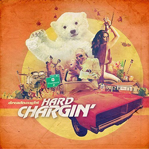 """A timely release, considering the recent passing of B-movie/fright flick king, Roger Corman; the cover of Dreadnaught's 'Hard Chargin'' could easily have been one of his movie posters. This disc is as twisted and uneven as the images; break-neck bouts of power pop, 10 minute Zappa freakouts and free jazz noise courtesy of guest appearances by,""""a veritable s$%t-load of analog effects pedals."""" The terror ends on a happy note and no baby polar bears were harmed in the recording."""