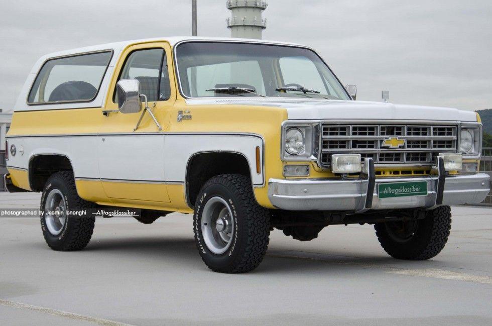 Chevrolet Blazer K5 Alltagsklassiker Chevrolet Blazer