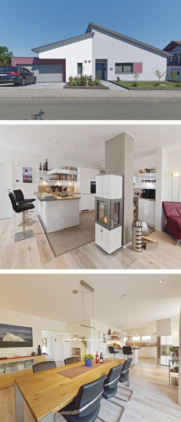 Moderner Winkelbungalow Mit Garage Pultdach Architektur Versetzt