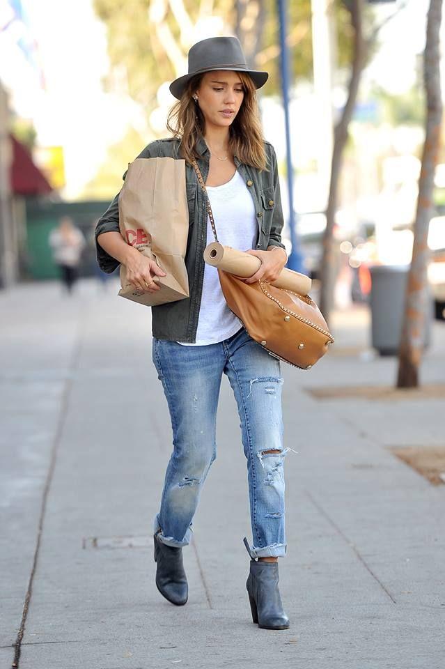 Fashion Follie Jessica Alba What To Wear Pinterest Jessica Alba Style Fashion And Street