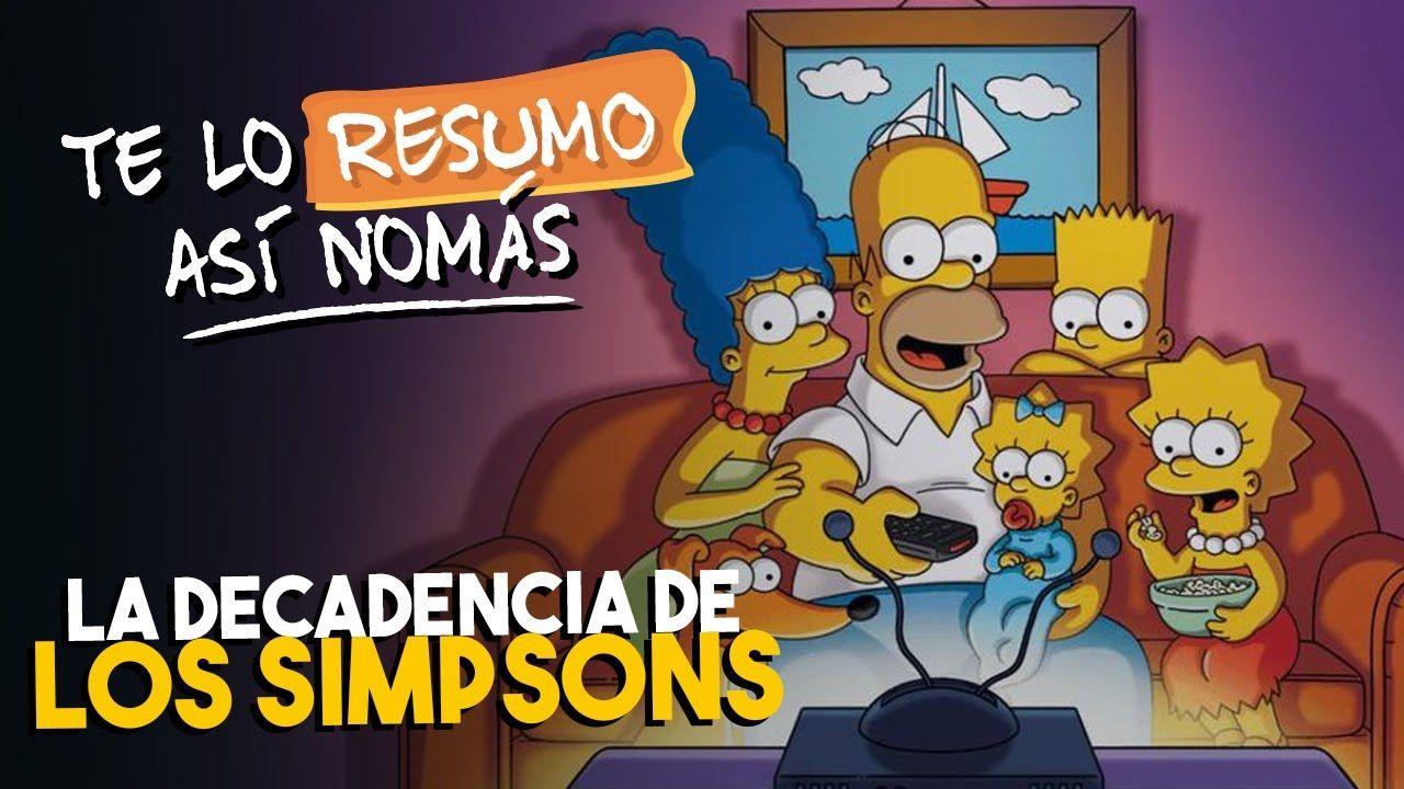 La Decadencia De Los Simpsons Teloresumo Los Simpson Bart Simpson Interactive