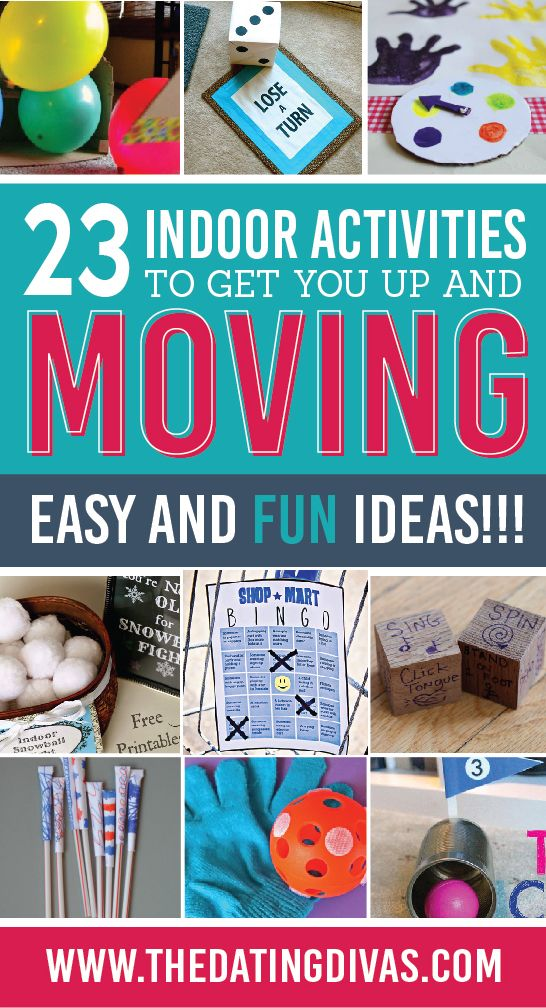 Fun Family Games You Can Play Indoors Indoor games for