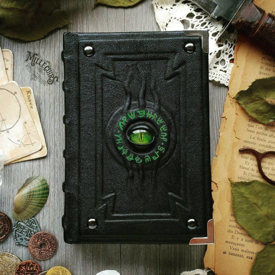 The Alchemist's little green book! by MilleCuirs Green