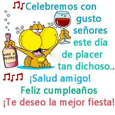 aca2c826e Imagen de feliz cumpleaños amigo