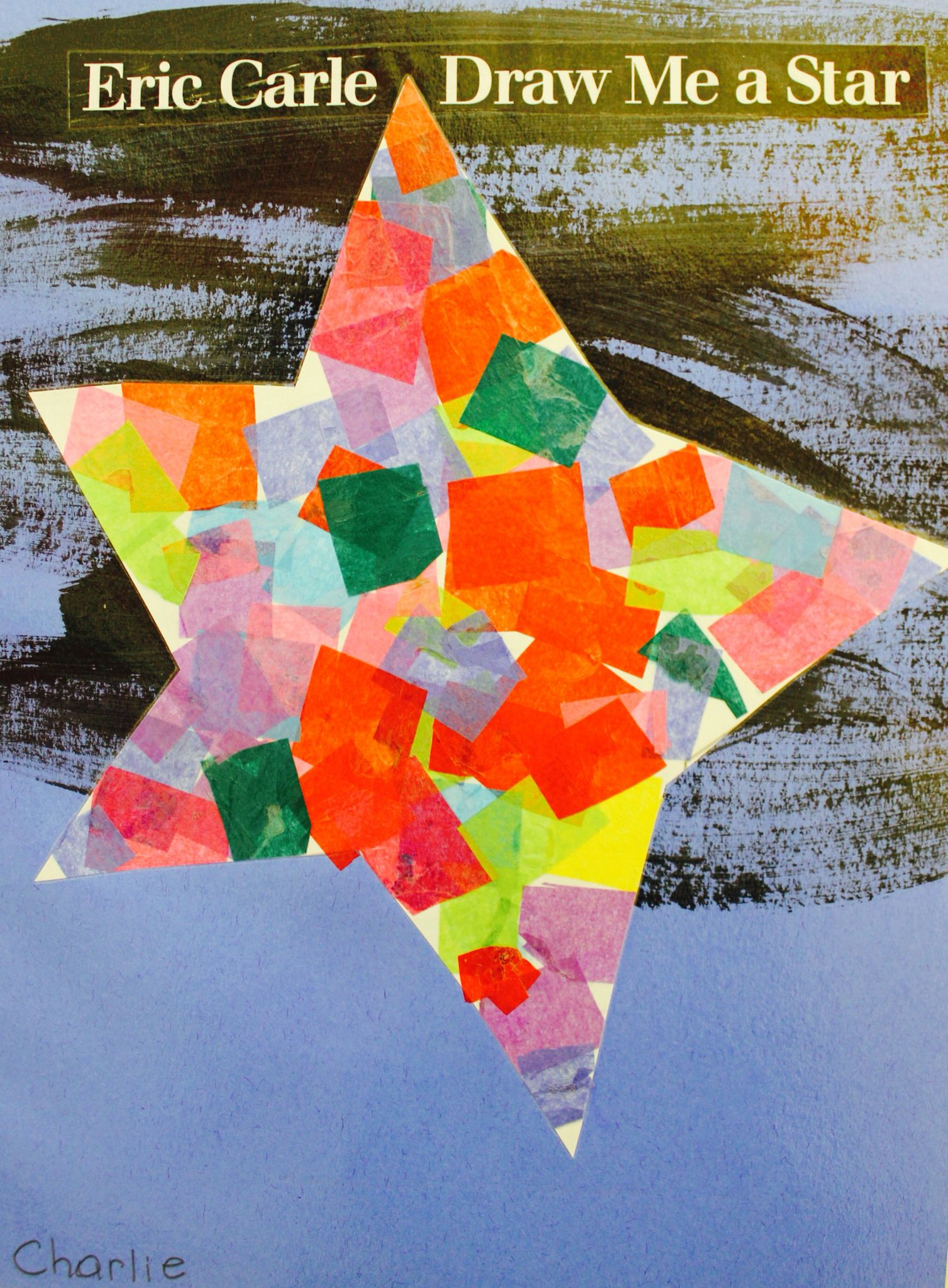 Draw Me A Star by Eric Carle | Art Ed-Kindergarten | Eric ...