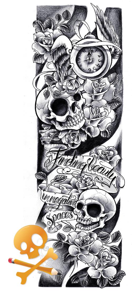 Pin By Rob Clelland On Ink Tattoos Sleeve Tattoos Skull Sleeve