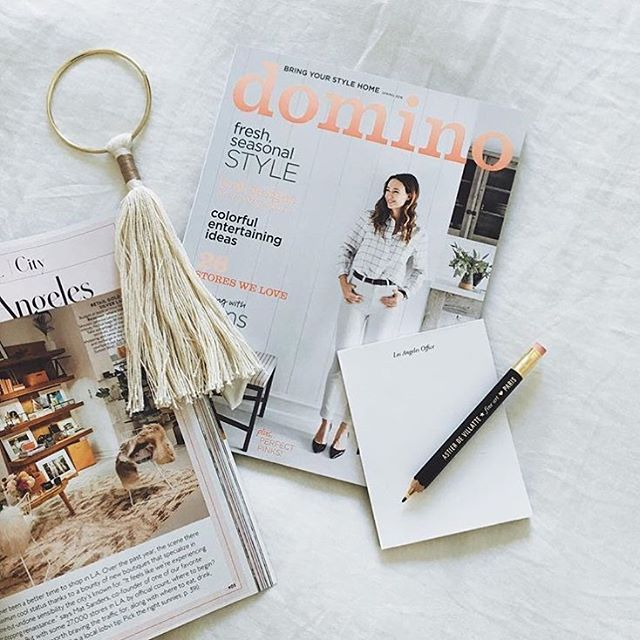 Our spring issue in a Saturday morning snap by @anyeske. #regram #SOdomino