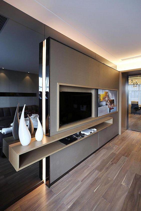 TV Wände für die perfekte Inneneinrichtung! wohnzimmer - wohnwand ideen selber machen