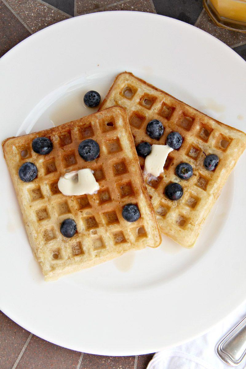 Buttermilk Waffles Just Like The Diner Buttermilk Waffles Waffles Food