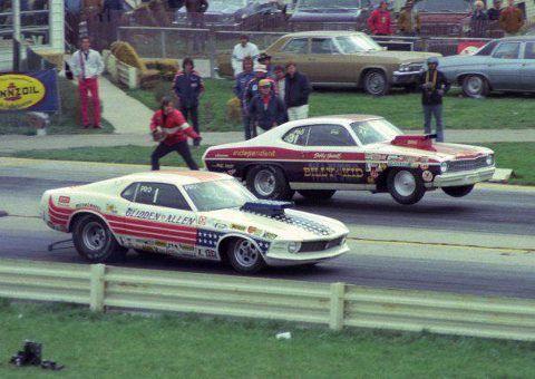 Retro Mustang Super Stock Drag Racer Drag Racing Cars Ford Racing Nhra Drag Racing