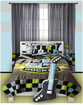 rock n roar collection rock star bedding rockstar bedrooms a room rh pinterest com