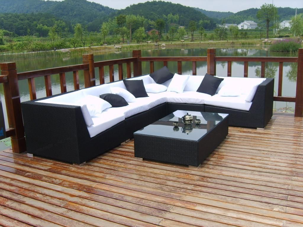 Daybed Outdoor Wetterfest Beautiful Outdoor Sofa Rattan Furniture Design With Square