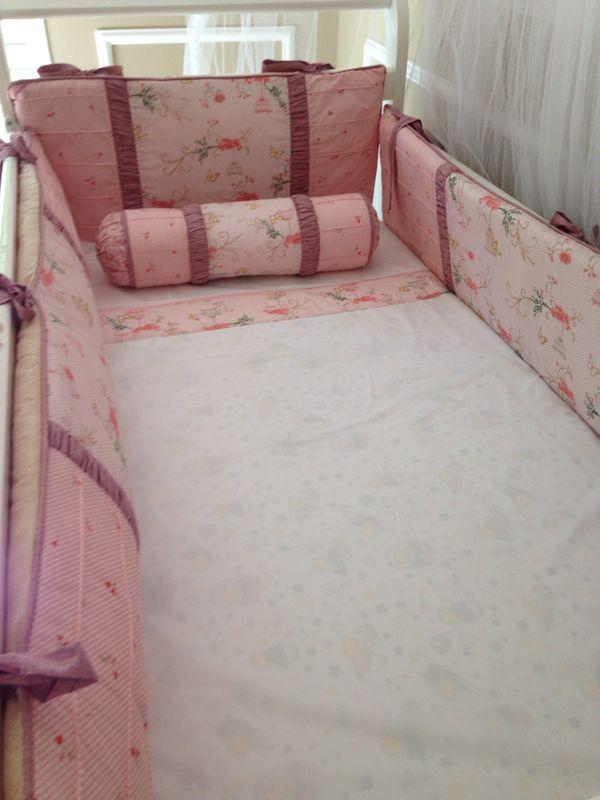 Nursery Quilt Bedding Set /kit de berço- projeto personalizado #