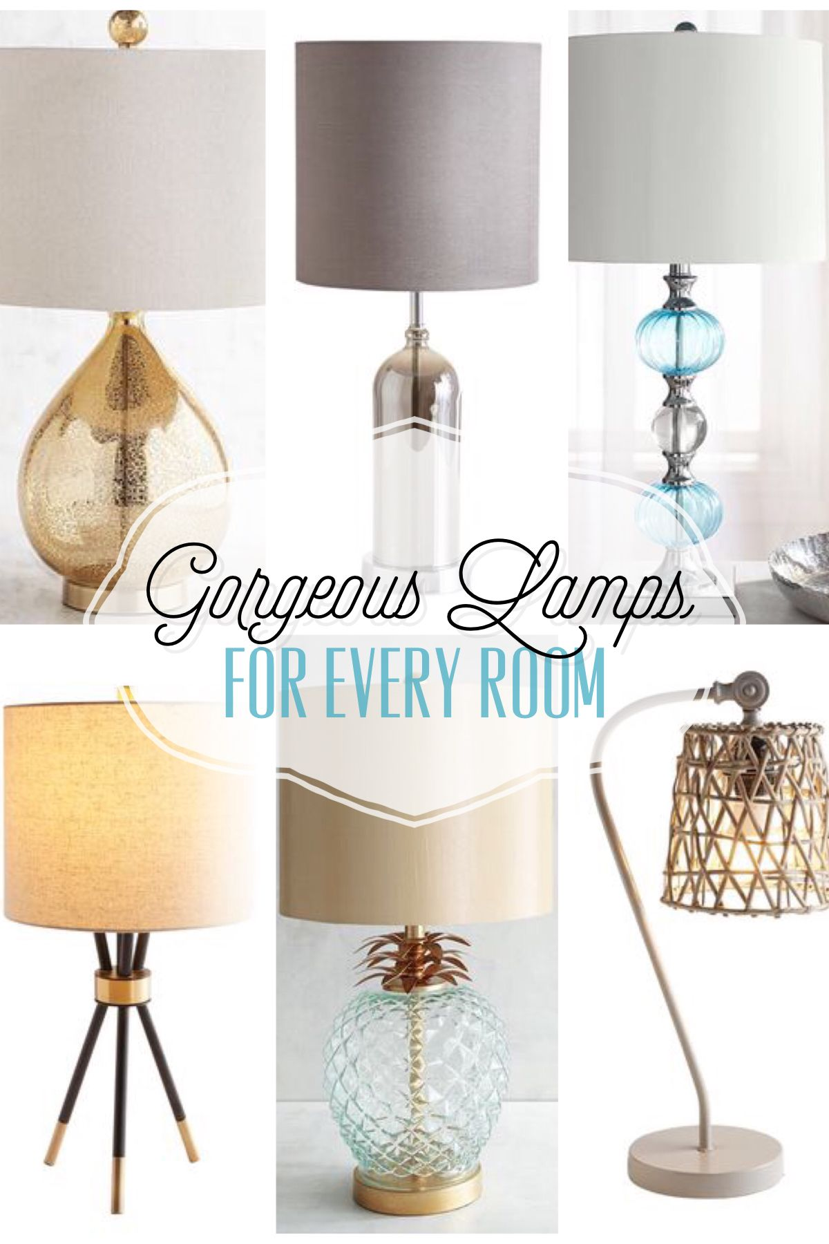Beautiful lamps to fit every style lamps lighting