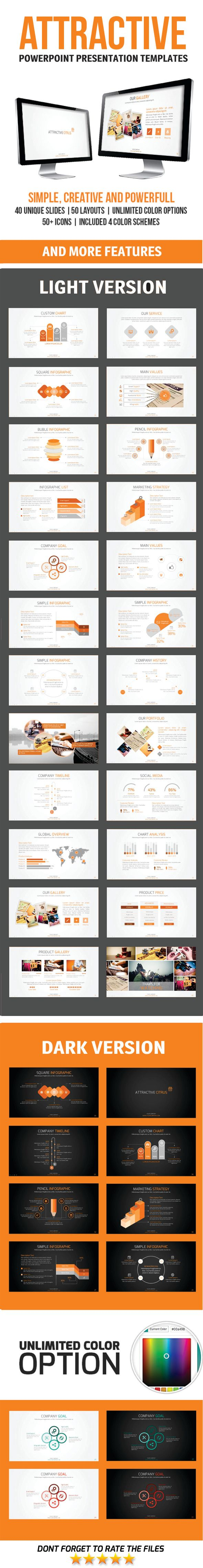 attractive powerpoint template | powerpoint presentation templates, Modern powerpoint