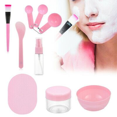 Makeup Accessories Skin Care Mixing Stick Mask Kits DIY Makeup Tool Set Bowl