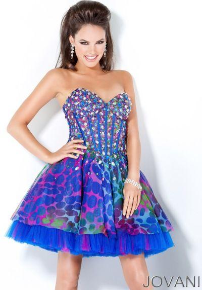 Colorful Short Prom Dresses - Ocodea.com