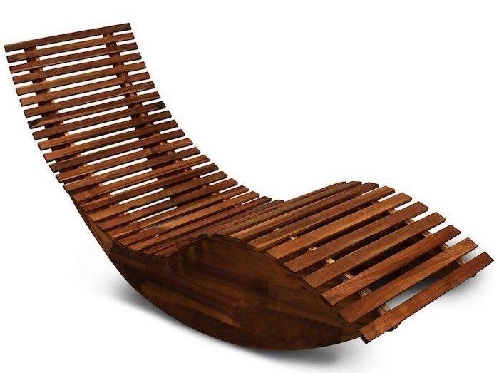 De Bois Chaise Transat Bain Jardin Soleil Longue Design ED2WH9I
