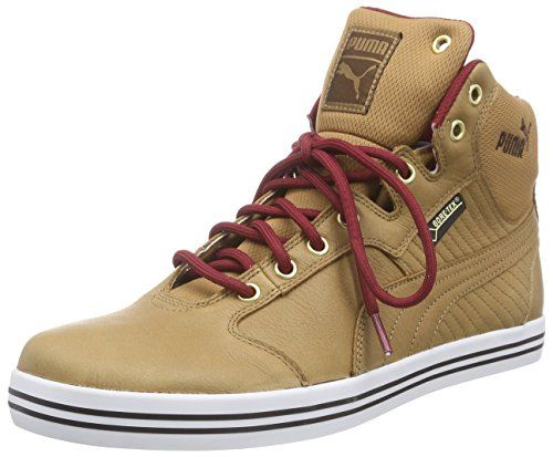 UK Online - Puma Tatau Mid L GTX High Sneakers man Brown (chipmunk-rio-chestnut Red 05)