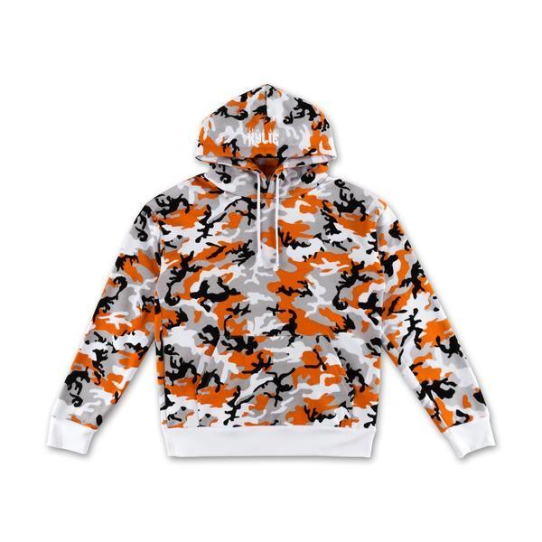 dfb00581e341a Camo Hoodie - Orange – Kylie Jenner Shop
