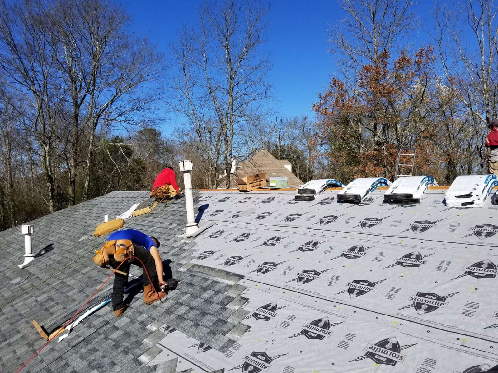 Check Out Our Website To Learn More About How We Can Help You Https Blueangelsroofing Com Leak Repair Roofing Contractors Roofing