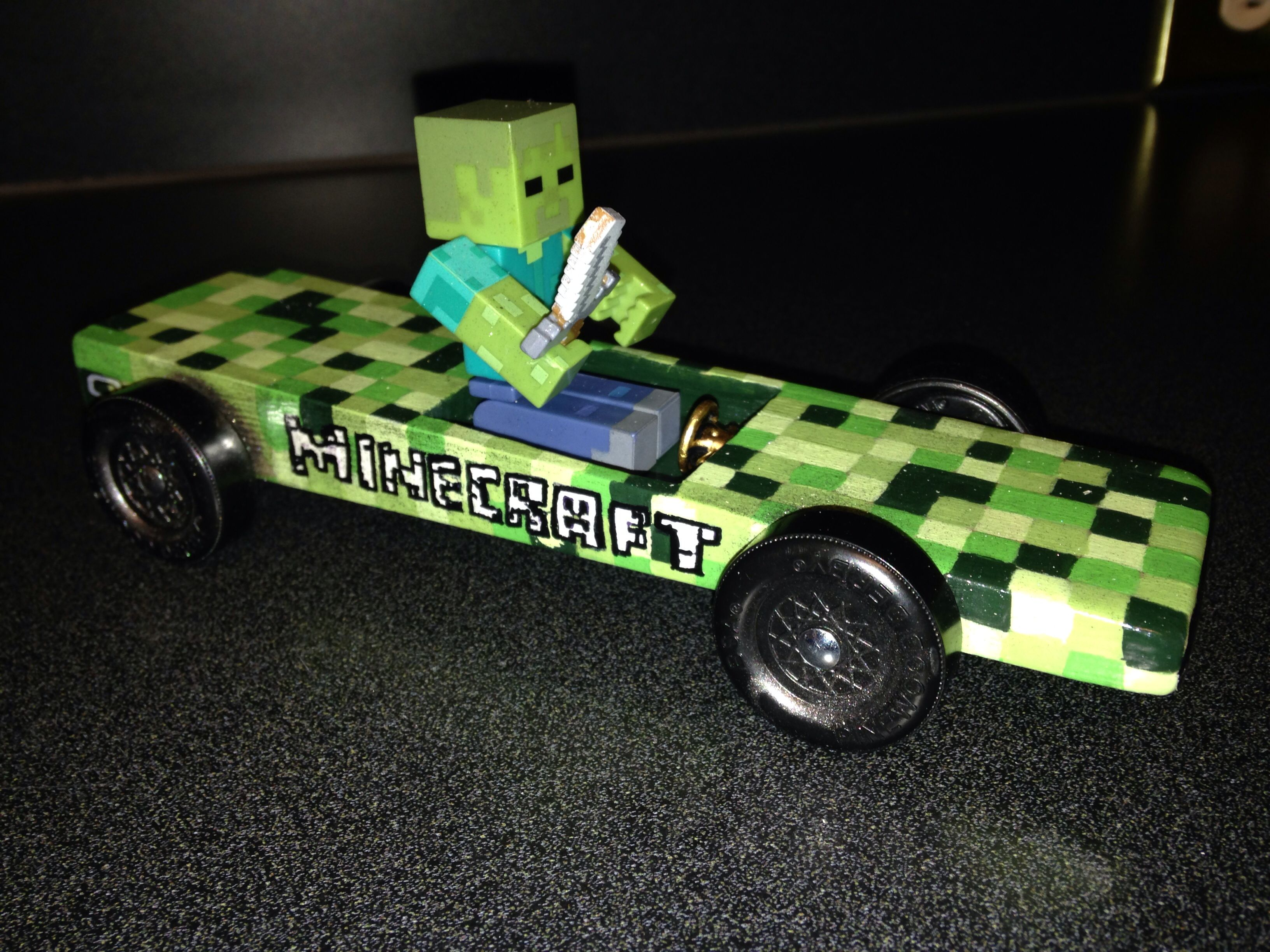 Mine craft Pinewood Derby | CubScouts | Pinterest ...