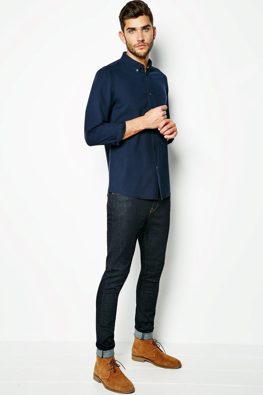 WADSWORTH OXFORD PLAIN SHIRT | JackWills UK