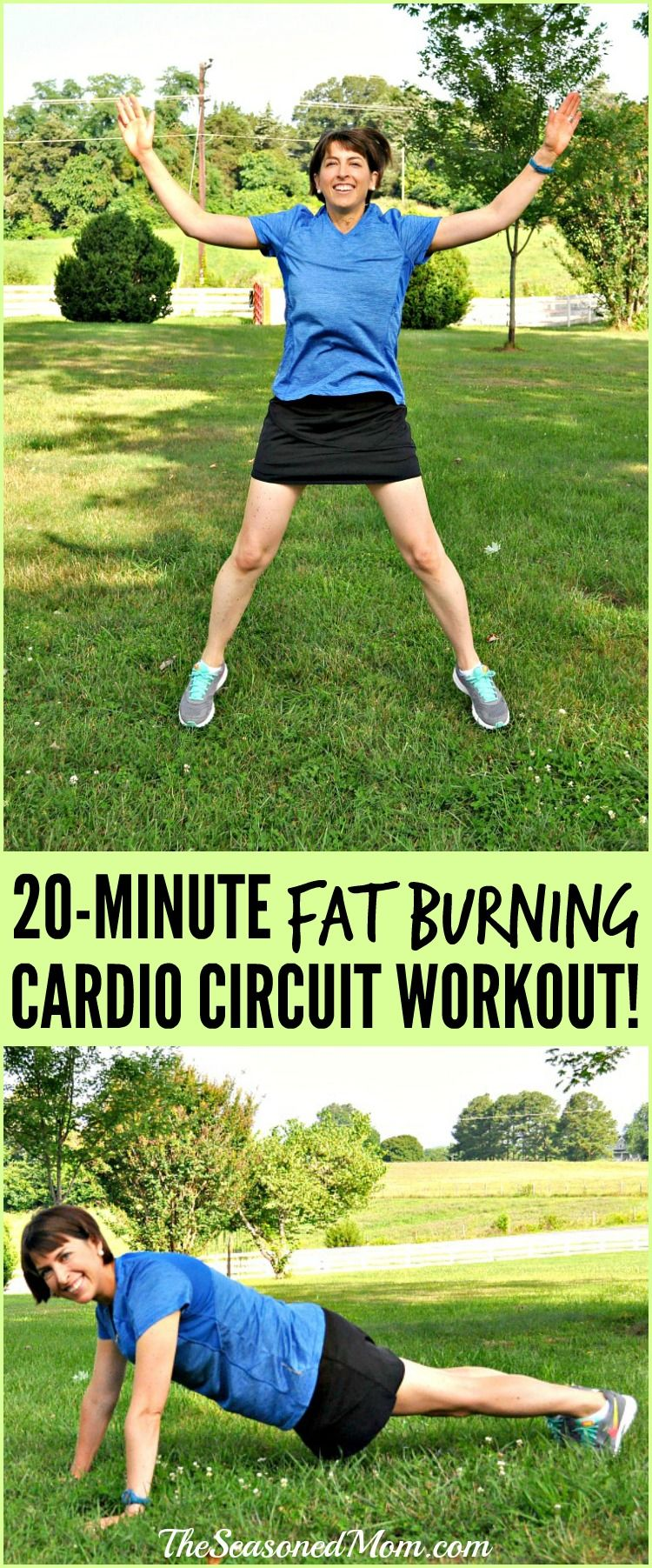 A quick, heartpumping 20MINUTE FAT BURNING CARDIO CIRCUIT WORKOUT that you can do anywhere  no equipment necessary! Kids can join in, too! OutshineSnacks ad @outshinesnacks is part of Circuit workout -