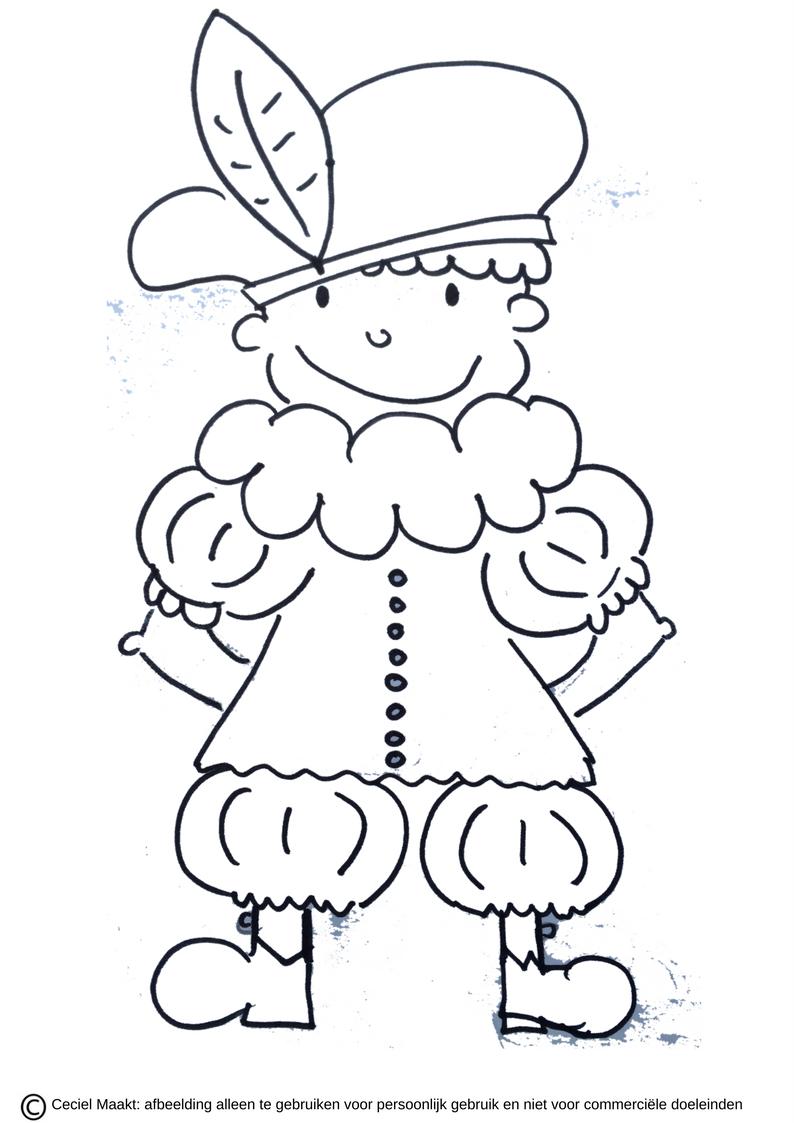 Gratis Te Printen Slabloon Krijtstifttekening Raamtekening Voor Piet Sinterklaas Freebie Cecielmaakt Zwa Knutselen Sinterklaas Sinterklaas Krijtstift