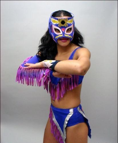 LUCHADORA Mexican Lucha Libre Wrestling Adult Size Wrestler