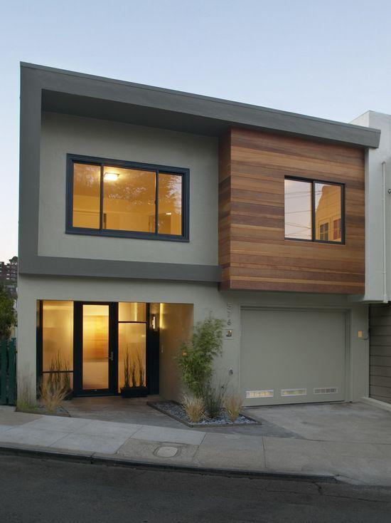 Contemporary Exterior Design Modern Wood Siding Modern House Exterior Elevation: Facade House, House Designs Exterior, Modern House Facades