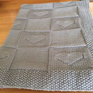 Baby blanket Charlotte Knitting pattern by Le Petit Mouton | Strickanleitungen | LoveKnitting