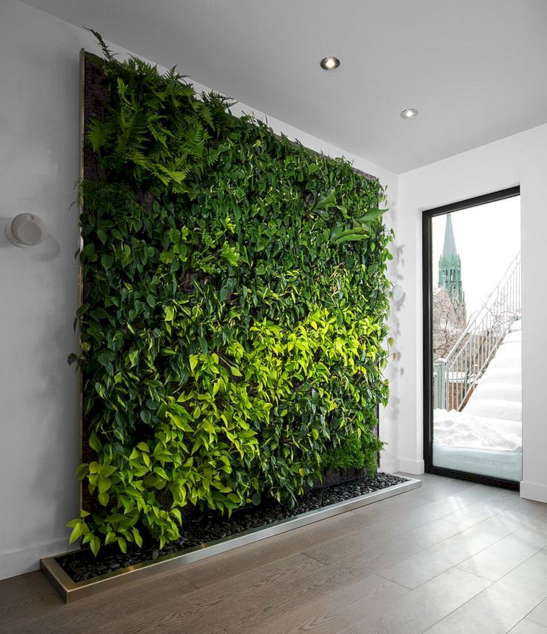 12 Minimalist Indoor Garden Design Inspiration You Should Try Decor It S Vertical Garden Indoor Green Wall Garden Minimalist Garden