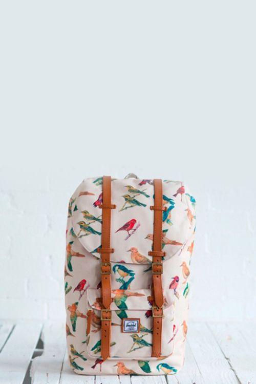 2403446093 Bird Print Bag and by Herschel Supply Co  SHOP