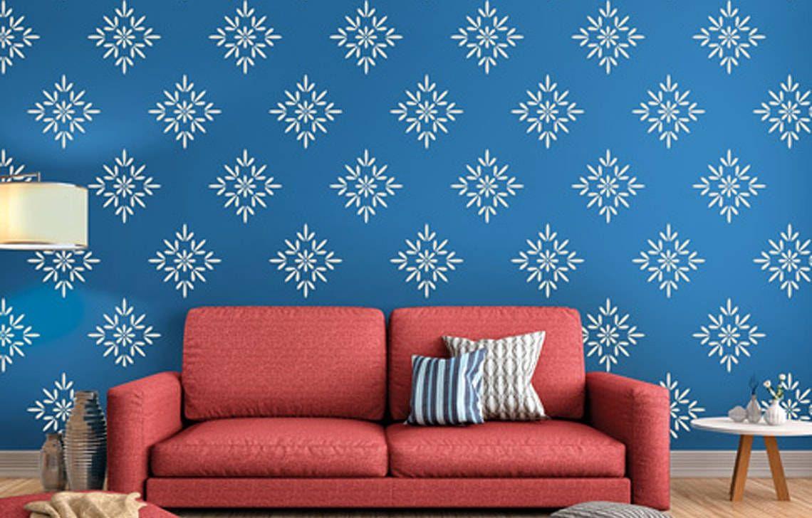 Offer 1 Asian Paint Design Stenciled Wall Decor Wall Paint Designs