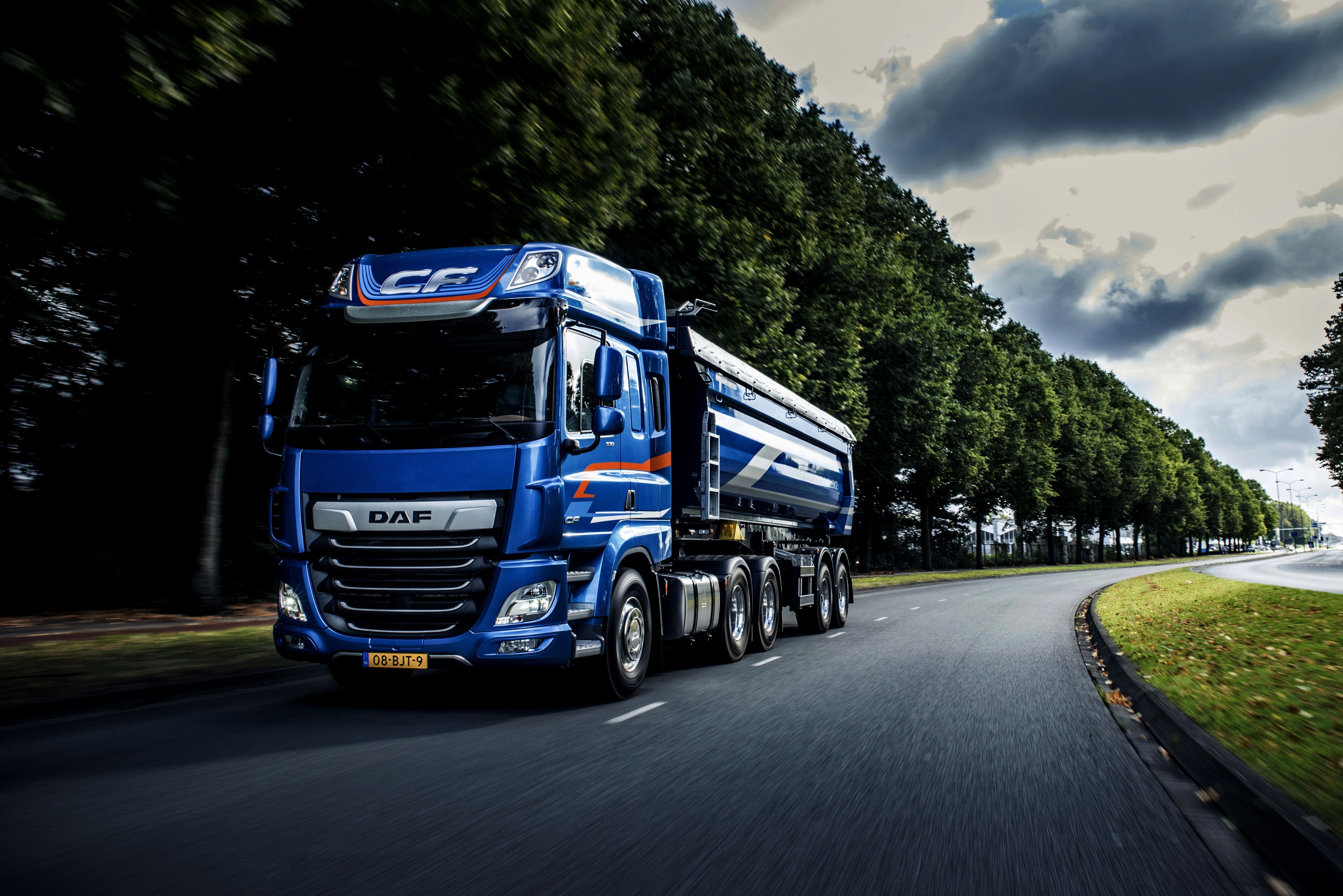 Vehicles Daf Road Truck Vehicle 4k Wallpaper Hdwallpaper Desktop Trucks Vehicles Hd Wallpaper 4k truck wallpapers high quality