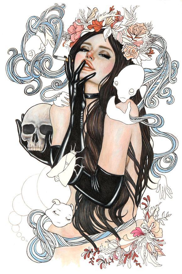 Wendy Ortiz's drawings   Martineken Blog
