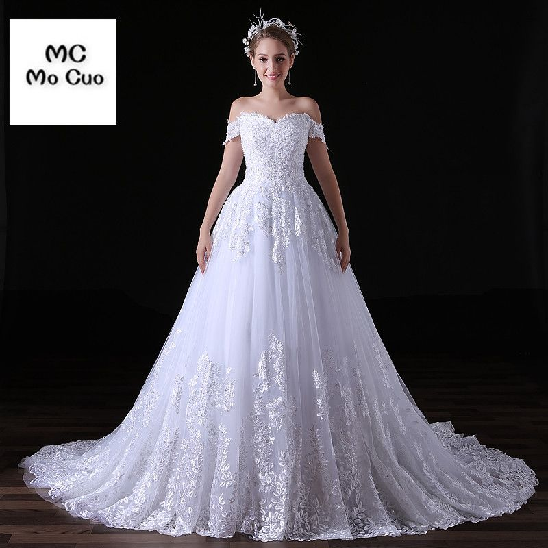 High Quality New Robe De Mariage Ball Gown Wedding Dresses Short ...