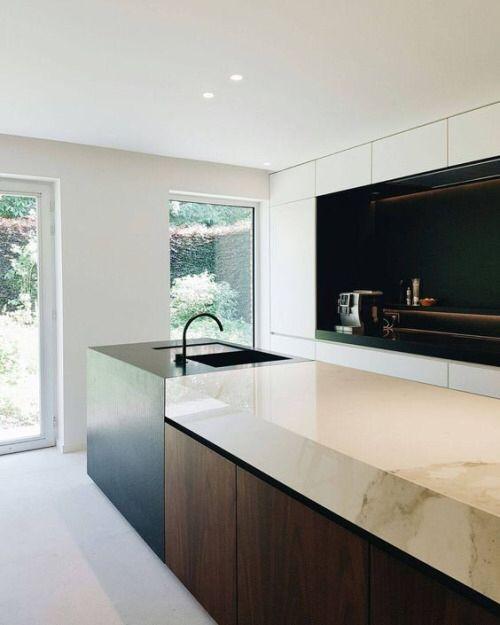 BC House kitchen designed by Dieter Vander Velpen near ...
