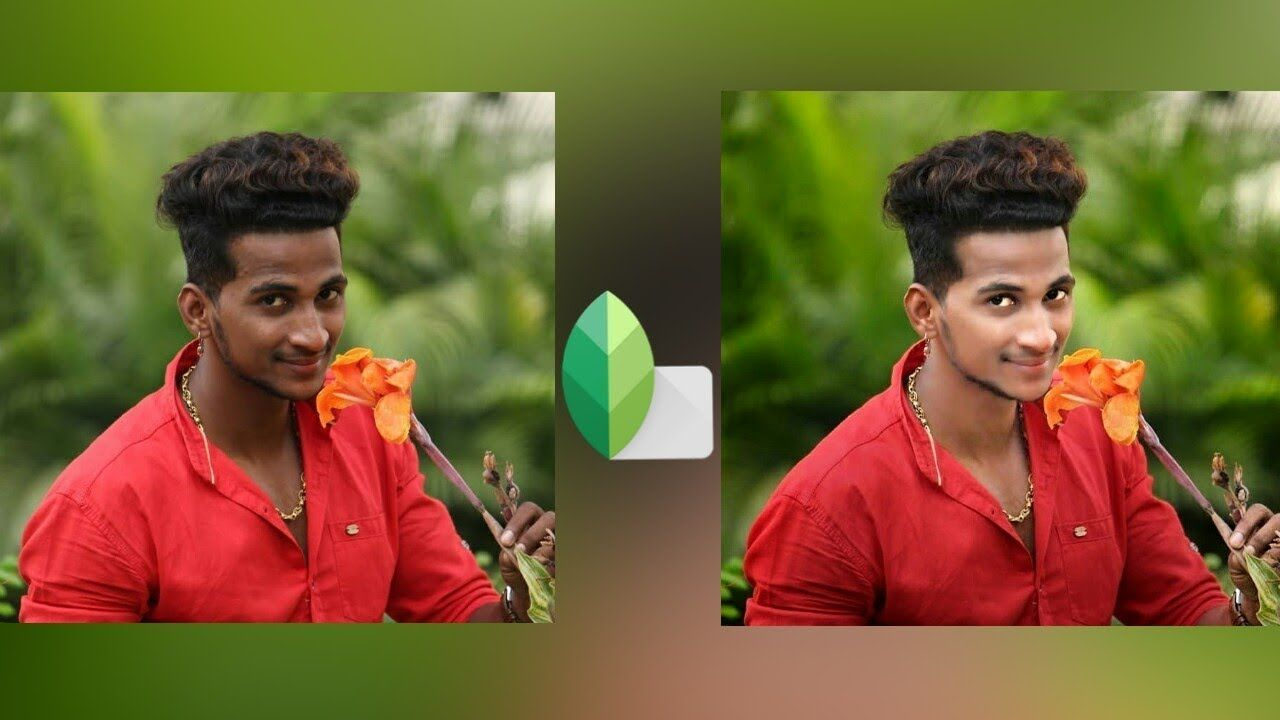 How To Face Smooth Skin In Snapseed Retouching Photo Editing