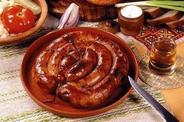Самая вкусная домашняя колбаска-гриль из курицы рецепт с фото