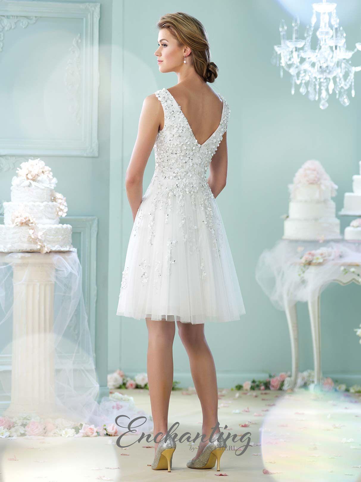 Casual wedding dresses with color  Enchanting   Mon Cheri Bridals  Wedding Dresses  Pinterest