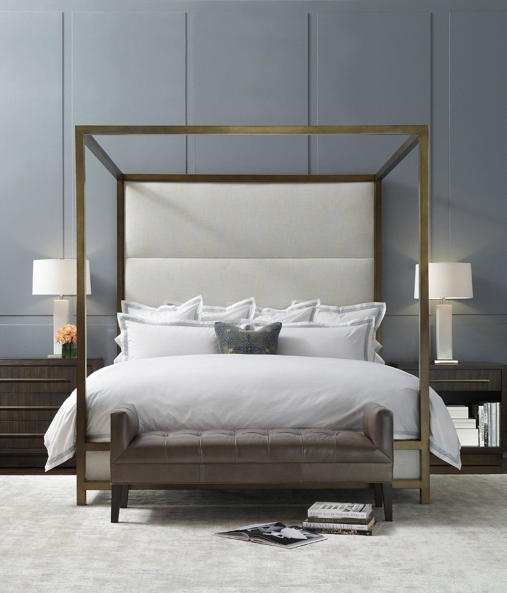 Putting A Value On Staging Bed Interior Bedroom Design Modern Bed