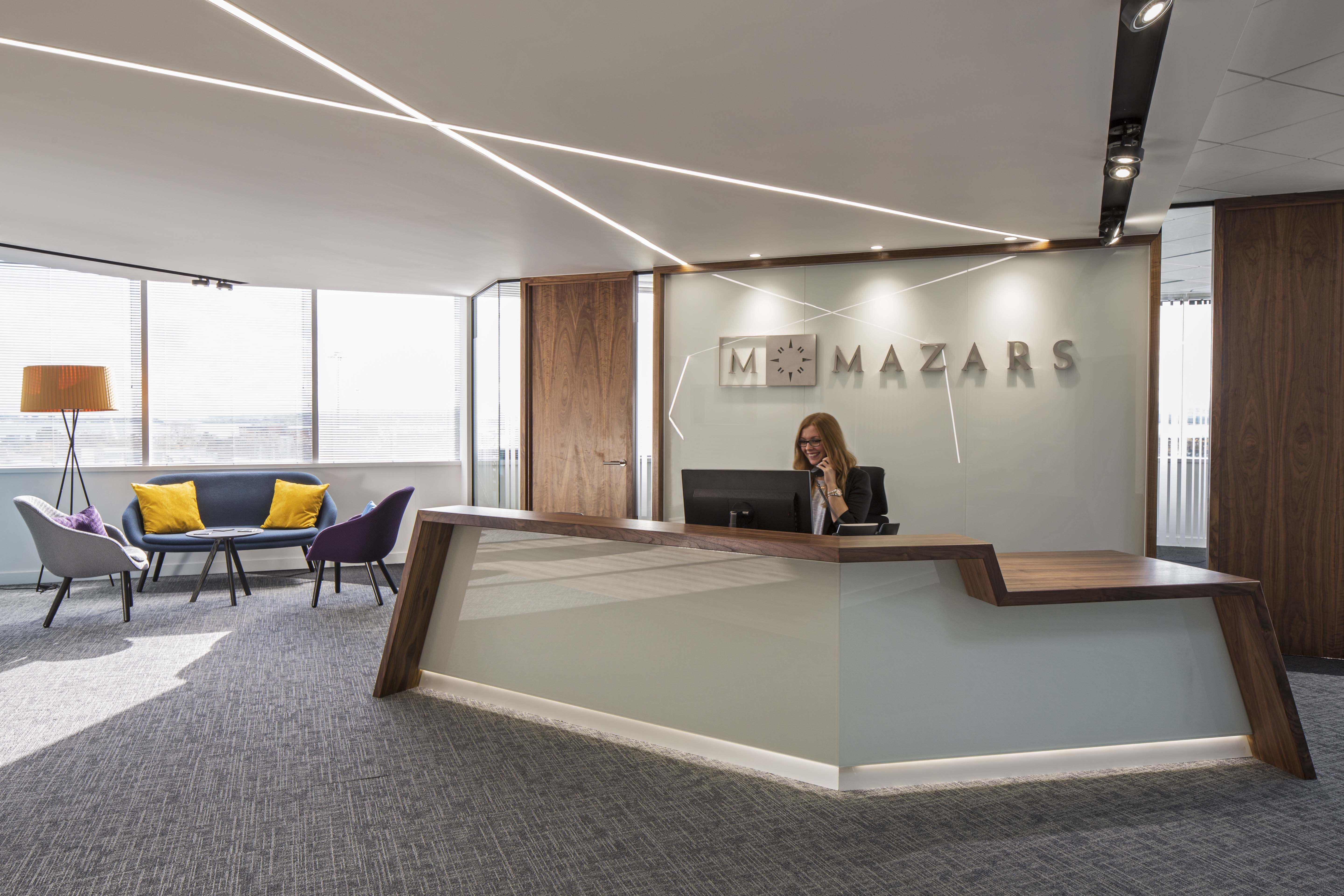 Mazars office poole copyright workplace creations ltd for Home office design ltd