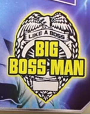 Big Boss Man Logo Wwe Wwf Logo Big Boss Man Man Logo