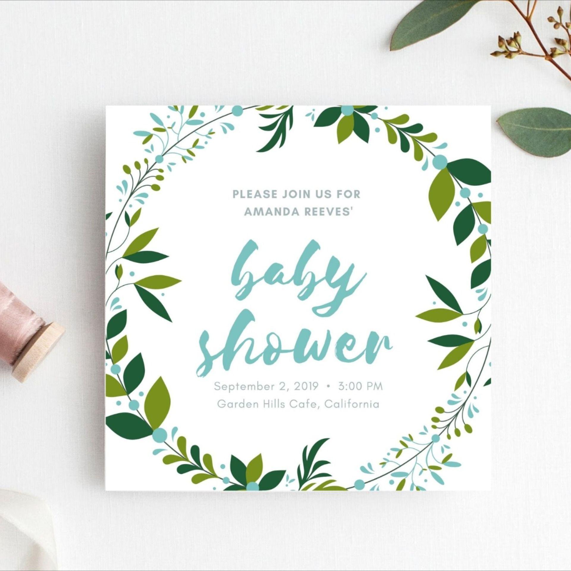Editable baby shower invitation baby shower invitations