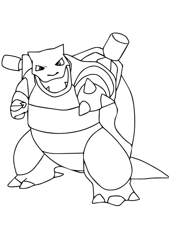 print coloring image - MomJunction | Pokemon coloring pages