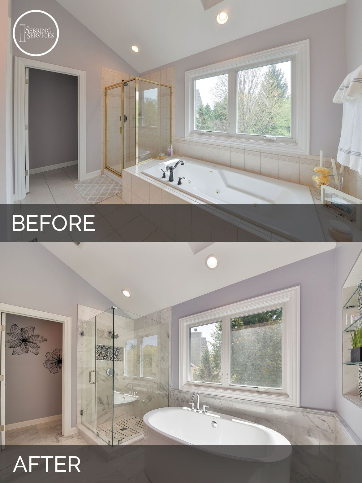 Doug Natalie S Master Bath Before After Pictures Bathroom