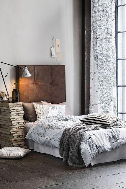 LEUCHTEND GRAU: Nachttisch aus Schachteln | Haus deko ...