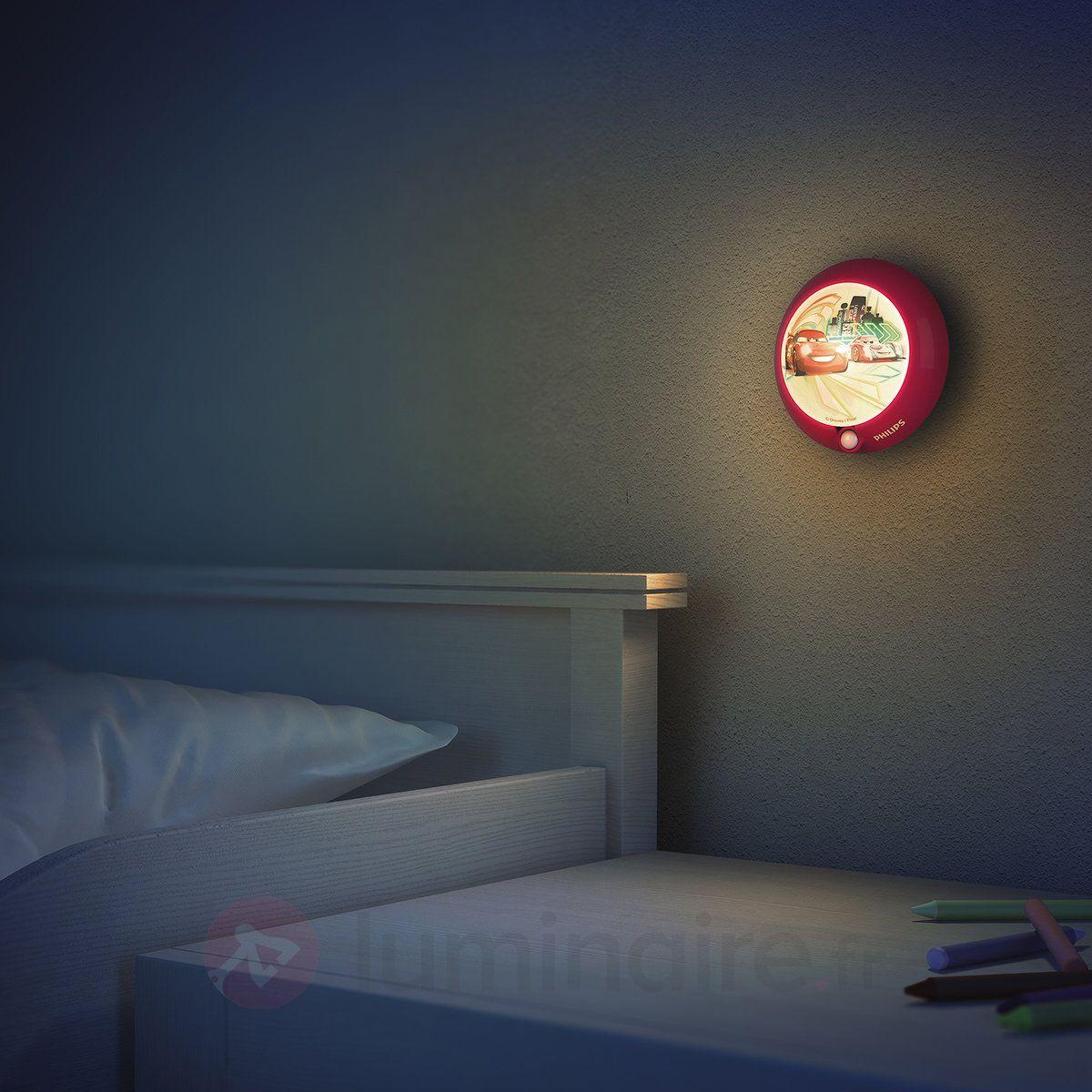 veilleuse led enfant cars d tecteur de mouv luminaires. Black Bedroom Furniture Sets. Home Design Ideas